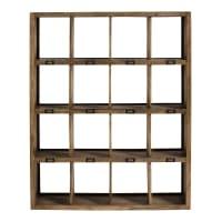 Solid Mango Wood Shelf Unit Memphis