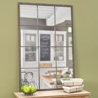 ARTOIS - Specchio stile industriale in metallo 80x120 cm