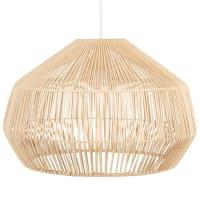 PADANG - Spherical pendant light in rattan
