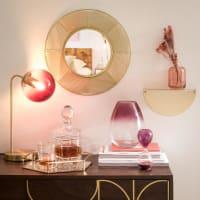 Spiegel aus Draht, goldfarben Sweety