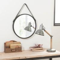 Spiegel aus Metall, D.41 Biggie