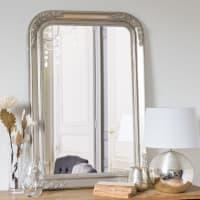 Spiegel van iriserend paulowniahout 65x95 Augustine