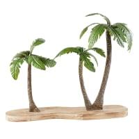 Statue palmiers en métal H56 Palmira