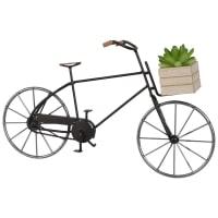 Statuetta bicicletta in metallo, h 12 cm Citybike