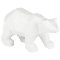 Statuette ours blanc H11 Malmours