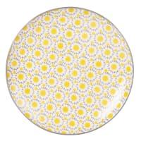 Sun Print Earthenware Dinner Plate Adele