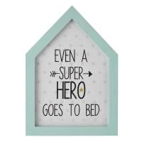 blue frame 20 x 28 cm Super Hero