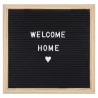 Tableau à messages Letter Board 30x30 Woody