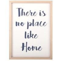 Tableau blanc citation bleue 30x18 Home Place