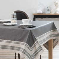 Tablecloth cover in grey 170 x 310 cm Orangerie