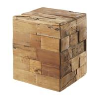 Tabouret en bois recyclé Riverside