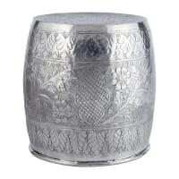 Tabouret en métal Udaipur