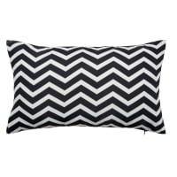 White/Black Outdoor Cushion 30x50 Talaia