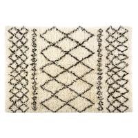 Tapis berbère en laine et coton 160x230 Mounia