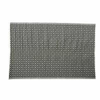 Tapis d'extérieur en polypropylène noir et blanc 180x270 Kamari
