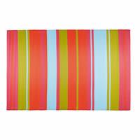 Tapis de jardin en tissu rayé multicolore 180x270 Guaritito