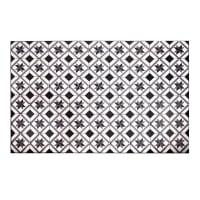 Tapis en vinyle motifs carreaux de ciment 100x150 Luso