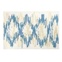 Tappeto in lana e cotone motivi a righe, 140x200 cm Moonstone