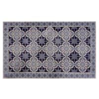 Tappeto in vinile con motivi a mattonelle 50x80 cm Vila
