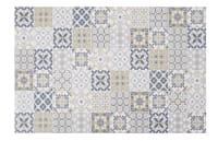 Tappeto in vinile con motivi a mattonelle multicolore, 100x150 cm Lisboa