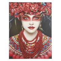 ANYA - Tela dipinta ritratto, 90x120 cm