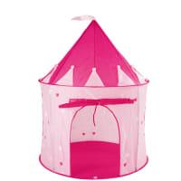 Tente château en tissu rose 100 x 130 cm Princesse
