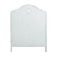 Testata da letto bianca 90cm Valentine