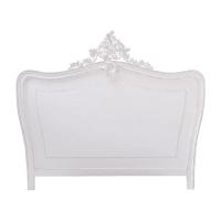 Tête de lit blanche L160 Comtesse