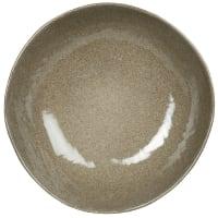 YELLOWSTONE - Set aus 6 - Tiefer Teller aus grünem Steinzeug