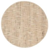 Set aus 2 - Tischset aus Leinen und Baumwolle, beige