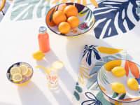MOKASA - Toalha de mesa com estampado multicolorido 140x250