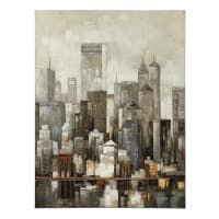 Toile 90x120 Cm Lower Manhattan