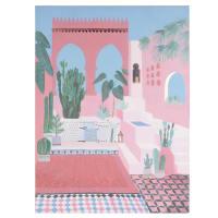 Toile imprimé paysage 60x80 Medina