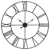 Uhr aus schwarzem Metall D88 Texas