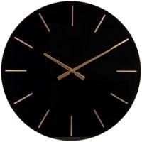 BEXLEY - Uhr, schwarz und goldfarben, D60cm