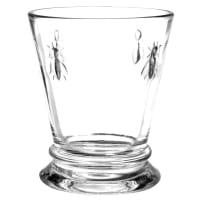 Vaso ancho de cristal Abeille