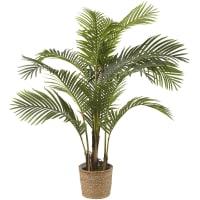 MAJESTY - Vaso com palmeira-de-areca artificial