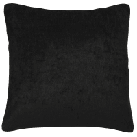 black velvet cushion 45 x 45cm Vintage Velvet Belouga