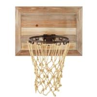 DETROIT - Vurenhouten wand basketbalmand 56x68