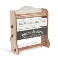 Wandabroller aus Holz H37, Maison Du Café