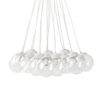 Wandlamp met meerdere glazen bollen Polene