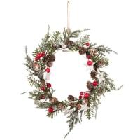 Weihnachtskranz mit Matteffekt 18x18