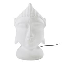 White Buddha Outdoor Lamp Zen