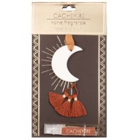 LUNE - White ceramic hanging scented moon