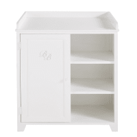 White Changing Table St Honoré