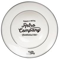 White Porcelain Pasta Plate Parker