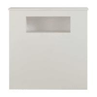 White wooden bedhead L 90 cm Tonic