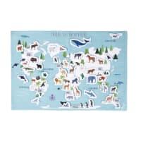 GRAPHIKIDS - World Map 55 x 80