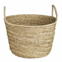 Woven Basket Green