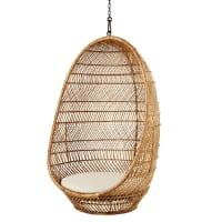 Woven Wicker Hanging Armchair Lovina